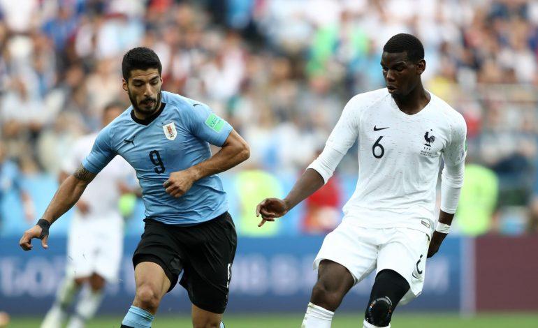 La France qualifiée pour les demi-finales après sa victoire contre l'Uruguay 2-0