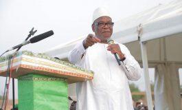 Ibrahim Boubacar Keita réélu président du Mali avec 67,17% des voix