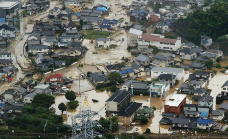 Le bilan des inondations au japon monte à 30 morts