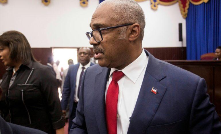 Le Premier ministre haïtien, Jack Guy Lafontant annonce avoir démissionné