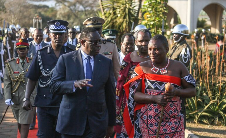 Les perspectives de coopération bilatérale évoquées entre Macky Sall et Mswati III roi d'eSwatini