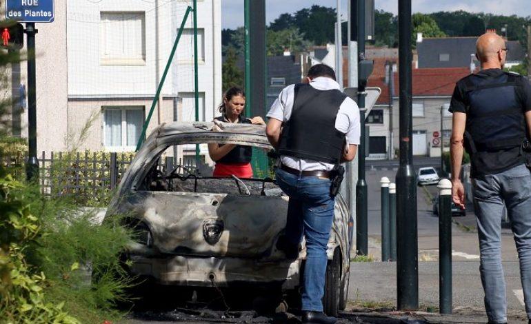De nouvelles violences urbaines à Nantes pour la troisième nuit consécutive, après la mort de Boubakar tué par la police