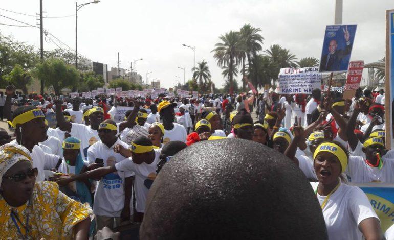 L'opposition a réussi le pari de la mobilisation à Dakar