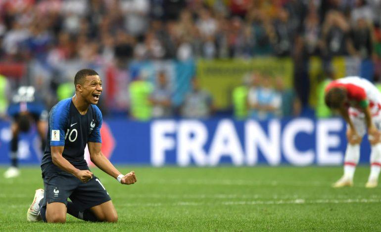 La France remporte la coupe du monde pour la 2e fois de son histoire, 4-2 en finale face à la Croatie