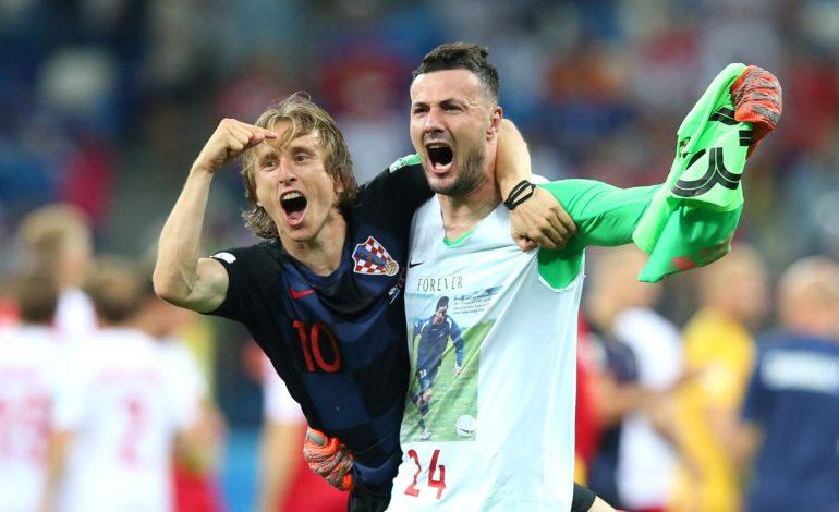 La Croatie élimine le Danemark aux tirs au but (1-1; 3-2) et rejoint la Russie en quarts de finale