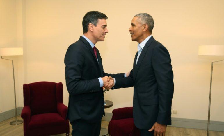 Barack Obama met en garde contre une «montée du nationalisme» ce vendredi à Madrid