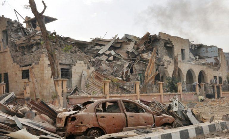 54 combattants et civils tués dans un raid au Syrie