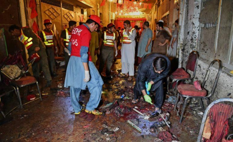 Au moins 12 morts dans un attentat suicide contre une réunion électorale au Pakistan