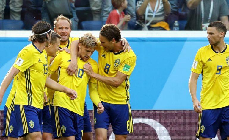 La Suède bat la Suisse 1-0 et se qualifie pour les quarts de finale