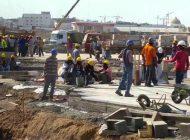 Deux ouvriers meurent dans l'effondrement d'un bâtiment en construction