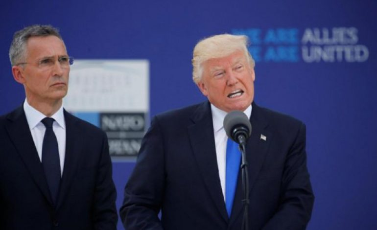 Donald Trump charge violemment l'Allemagne au premier jour du sommet de l'OTAN