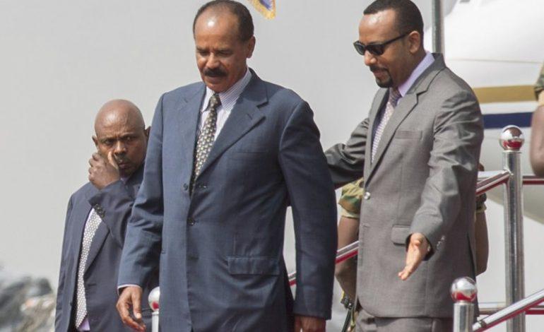 Le président érythréen Issaias Afeworki, débute une visite historique en Ethiopie
