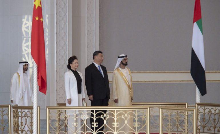 Accords pétrolier et commercial entre les Emirats Arabes Unis et la Chine pour la visite du président Xi