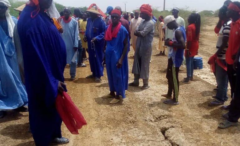 Les populations de l'île à Morphil ont marché pour réclamer la réhabilitation de la route Diatar-Alwar