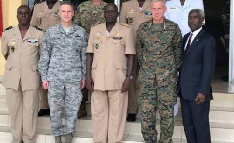 Le général Thomas D. Waldhauser, chef d'Africom achève une visite au Sénégal