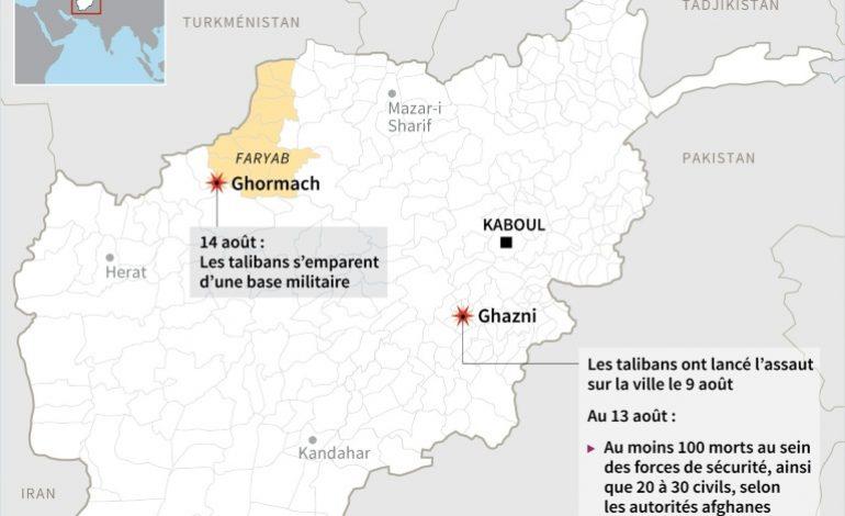 Les talibans s'emparent d'une base militaire dans le Nord de l'Afghanistan