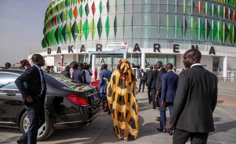 Macky Sall inaugure le complexe sportif Dakar Arena à Diamniadio