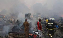 Violent incendie au marché Tilène de Ziguinchor, 1 mort déploré