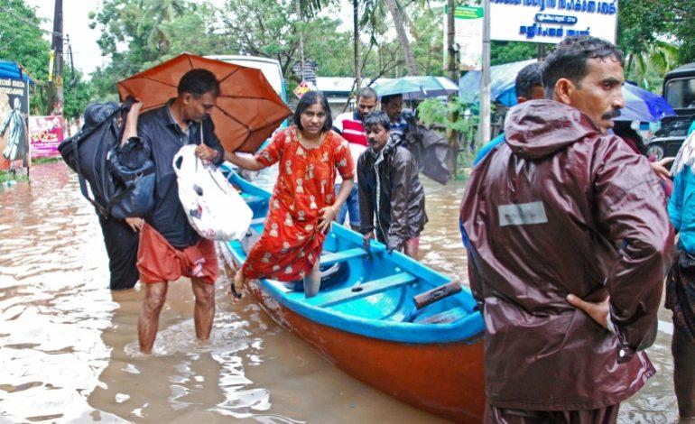164 morts dans les inondations dans le Kerala (Inde)