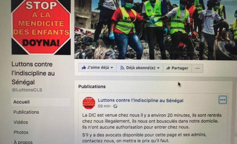 La DIC perquisitionne le domicile de l'administrateur de la page «Luttons Contre l'Indiscipline au Sénégal»