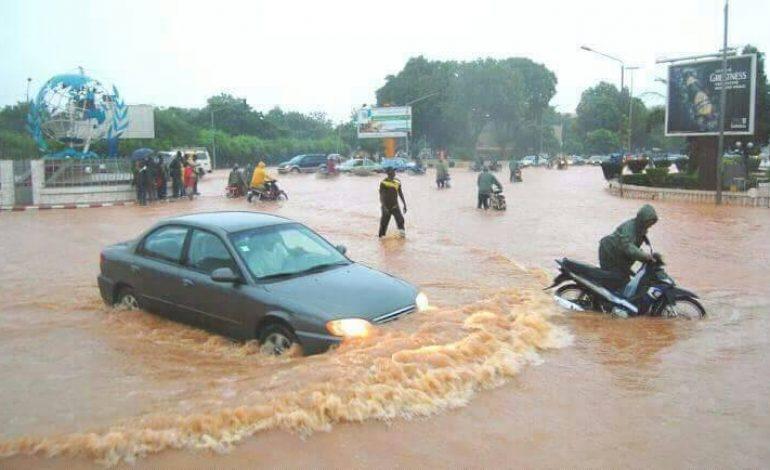 Près de 5000 sinistrés dûs aux inondations au Burkina Faso