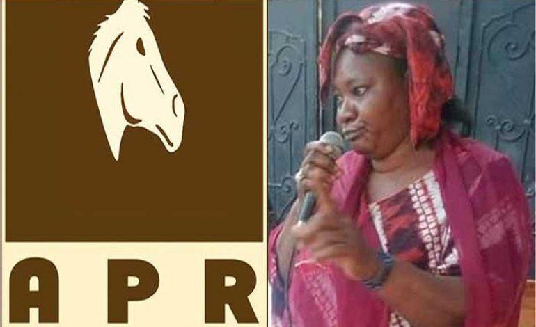 Aby Ndiaye de l'APR arrêtée pour vol de cartes d'identité