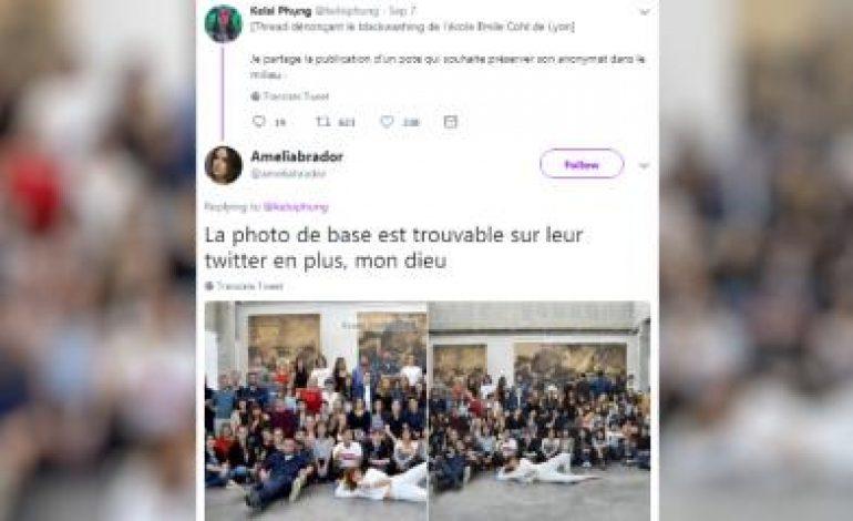 Des étudiants noirs ajoutés sur la photo de l'école Emile-Cohl, une école de dessin à Lyon pour faire sa promotion aux Etats-Unis