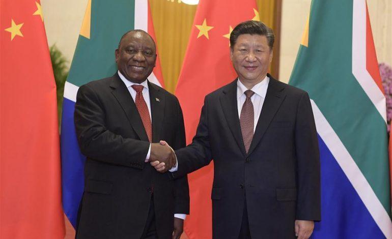 Cyril Ramaphosa ne voit aucun «néo-colonialisme» dans l'aide chinoise à l'Afrique