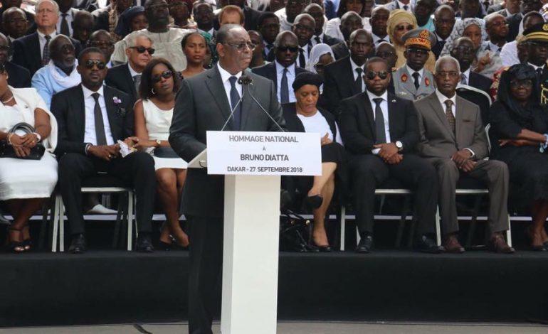 Le Sénégal a perdu en Bruno Diatta « un gardien du temple » selon Macky Sall