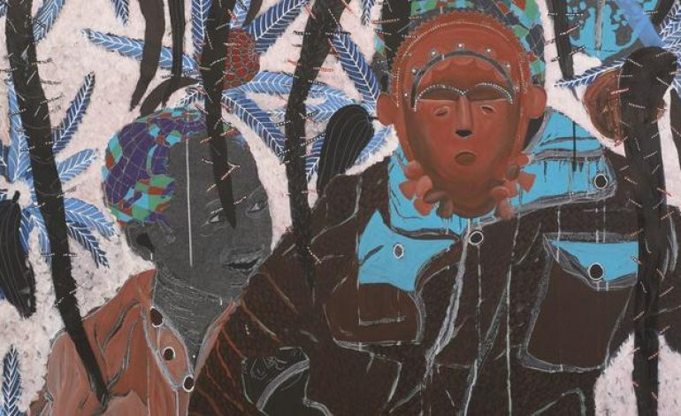 L'artiste sénégalais Omar Ba, un talent brut