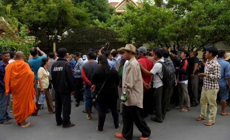 Le chef de l'opposition cambodgienne, Kem Sokha libéré sous caution