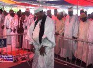 Serigne Mame Mor Mbacké a dirigé La prière des deux raaka à Saint Louis