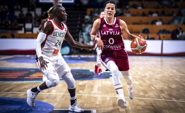 Le Sénégal s'impose en basket à l'arrachée face à la Lettonie (70-69)