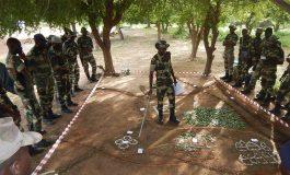 Eléments Français du Sénégal : Formation du bataillon sénégalais interarmes