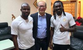Visite au Sénégal de Monsieur Wing Sang Li, président du FC Sochaux-Montbéliard