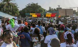 Macky Sall lance les travaux de construction de la boucle des Kalounayes et la 2e phase du PUDC