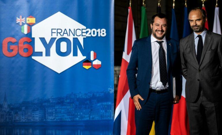La France tente de ramener l'Italie vers un consensus européen sur l'immigration