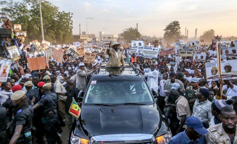 Macky Sall a inauguré la route Tambacounda-Dialacoto