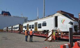 Les rames du TER réceptionnés au port de Dakar par Boun Abdallah Dionne