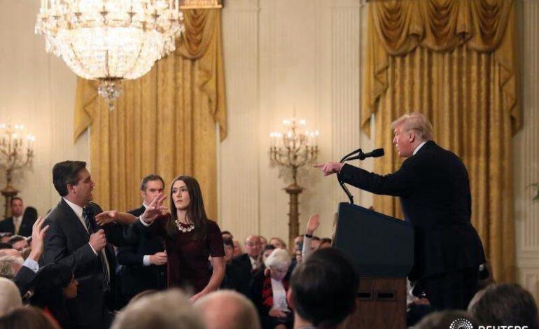 Nouvelle violente passe d'armes entre Donald Trump et la presse