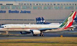 Le gouvernement mexicain annonce la vente de l'avion présidentiel