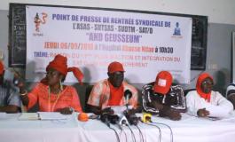 Secteur de la santé: And Gueusseum appelle à la résistance et décrète une grève de 72 heures