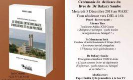 Bacary Sambe dédicace son nouveau livre ce mercredi au WARC (Dakar)