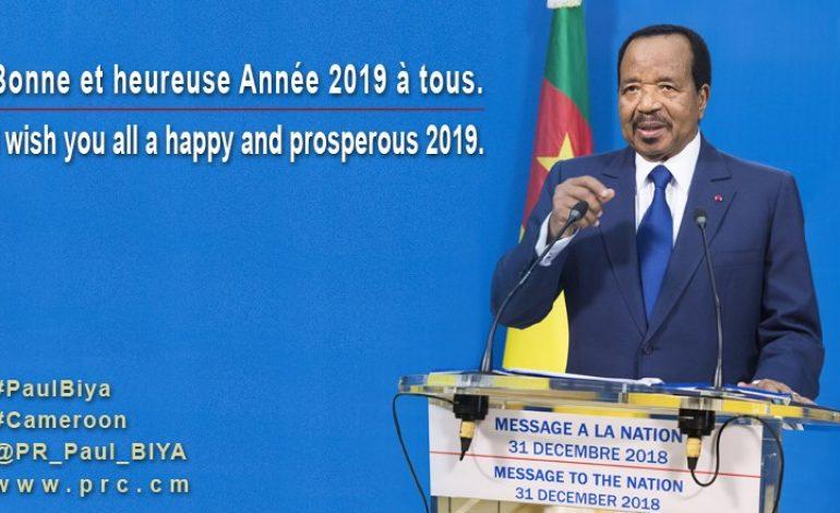 Dans son allocution de Nouvel An, Paul Biya annonce un septennat «décisif» pour le Cameroun