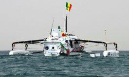 Le trimaran Raw4Ocean tente de relier Dakar au Suriname à la rame soit 4200 km