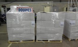 21 tonnes de tabac de contrebande en provenance de Dakar saisies à Dunkerque
