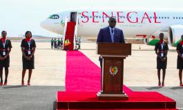 Airbus présente l'A330neo d'Air Sénégal à Dakar avant sa livraison