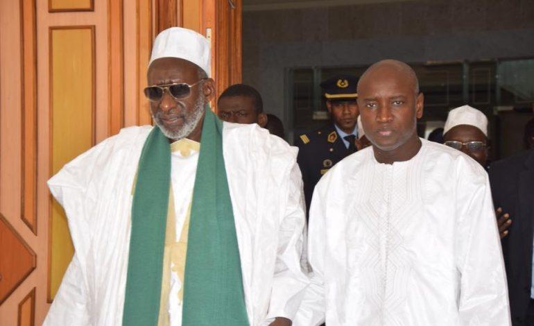 Aly Ngouille Ndiaye demande à Thierno Madani Tall de formuler des prières pour une élection présidentielle apaisée