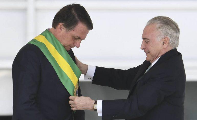 Jair Bolsonaro, le président du Brésil investi ce mardi 1er janvier