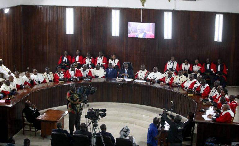 Sept nouveaux magistrats installés à la Cour des Comptes